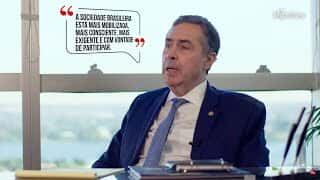 """Luís Roberto Barroso -  Eleições 2020 - """"Sociedade está mais mobilizada e exigente"""""""