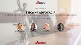 WEBINAR - Ética na Advocacia