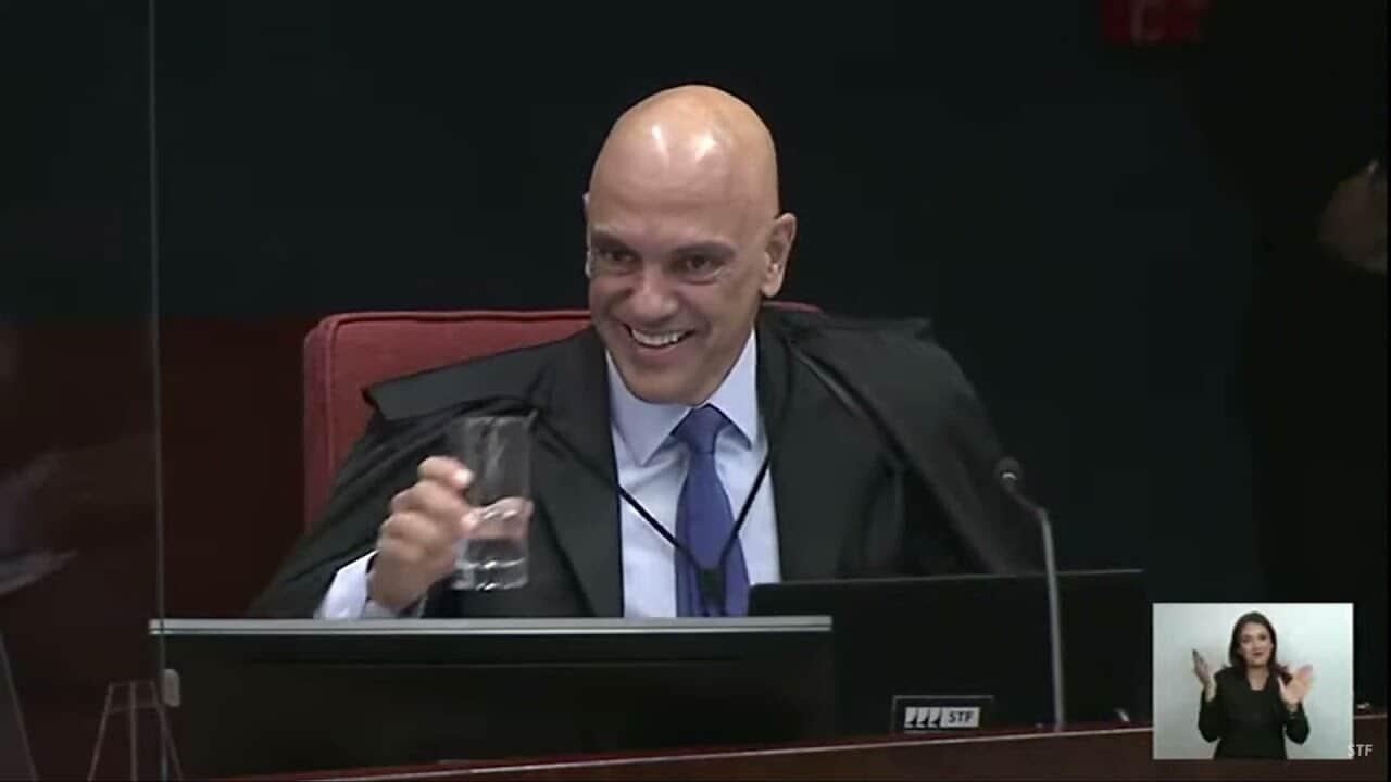 """Mesmo seguindo Marco Aurélio, Moraes termina como redator: """"sina"""""""