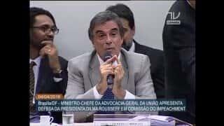 José Eduardo Cardozo - Defesa de Dilma contra o impeachment