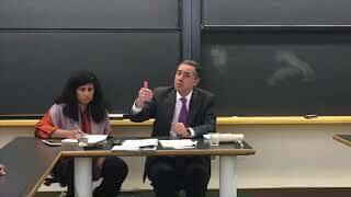 """Ministro Barroso palestra em Harvard - """"Corrupção, Governança e Direitos Humanos"""""""