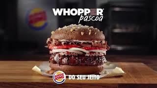 """""""Whopper Páscoa"""": TJ/SP mantem multa ao Burger King por publicidade enganosa do Dia da Mentira"""
