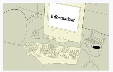 A informatização do ambiente de trabalho