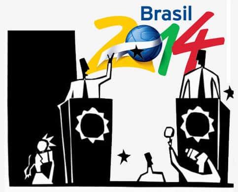 Futuros prefeitos e a Copa de 2014