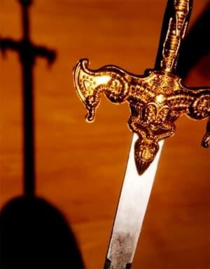 A Espada e a faca