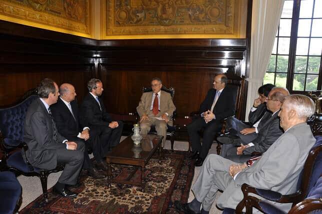 Diretores da AASP visitam presidente do TJ/SP