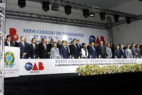 """OAB/SP divulga """"Carta de Atibaia"""" e defende Reforma Política Já"""