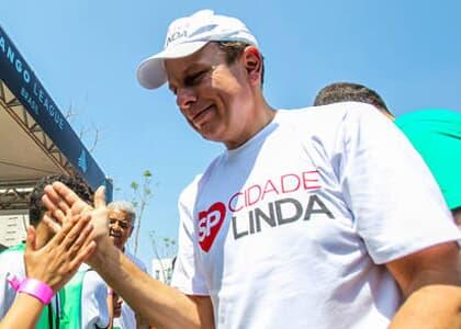 """Doria está proibido de usar slogan """"SP - Cidade Linda"""""""