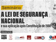 A Lei de Segurança Nacional e sua aplicação após Constituição de 1988