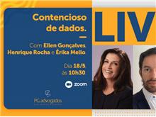 Pires & Gonçalves realiza live sobre Contencioso de dados