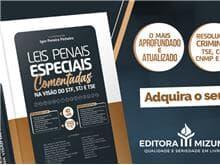 """Editora Mizuno lança livro """"Leis Penais Especiais Comentadas"""""""