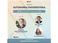 """Migalhas realiza o webinar """"Autonomia Universitária"""""""