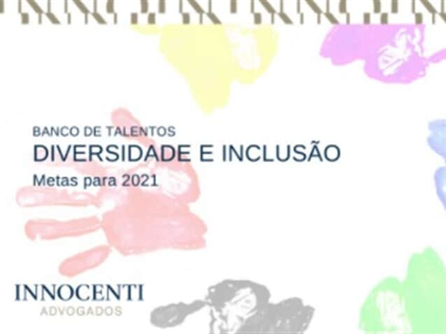 "Innocenti Advogados Associados cria ""Banco de Talentos de Diversidade"""