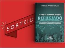 """Resultado do sorteio da obra """"O Direito ao Trabalho pelo Refugiado"""""""