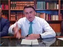 """Bolsonaro volta a atacar Barroso: """"comunista, socialista, ditador"""""""