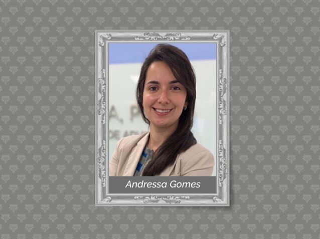 Andressa Gomes é a nova advogada de Correa, Porto | Sociedade de Advogados