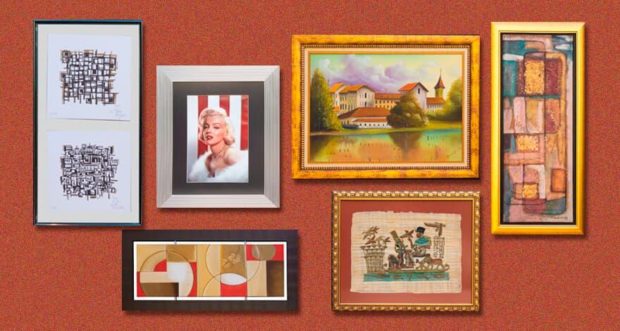 (Imagem: Obras de arte estarão à venda para ajudar instituições carentes.)