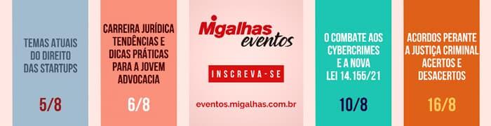 Eventos Migalhas