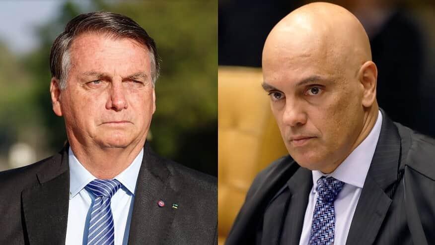 Bolsonaro apresenta pedido de impeachment contra Moraes no Senado - Migalhas