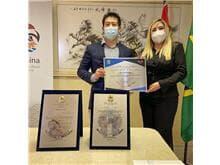 Relações Brasil China: Giselle Farinhas é empossada membro consultora