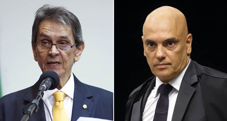 (Imagem: Rosinei Coutinho/STF e Pablo Valadares/Câmara dos Deputados)