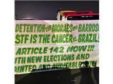 Manifestantes pró-Bolsonaro tomam Esplanada dos Ministérios; assista