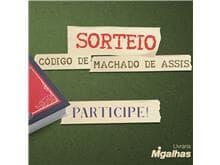 """Resultado do sorteio da obra """"Código de Machado de Assis"""""""