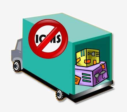 Serviço de transporte de mercadorias para exportação é isento de ICMS
