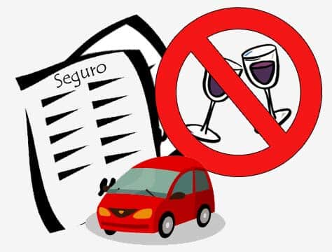 Tem carro, paga seguro, então não beba!