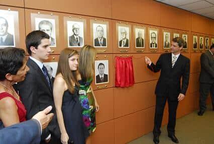 Inauguração do retrato de Sérgio Pinheiro Marçal na galeria de ex-presidentes da AASP