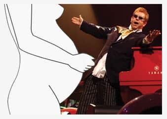 O filho de Elton John