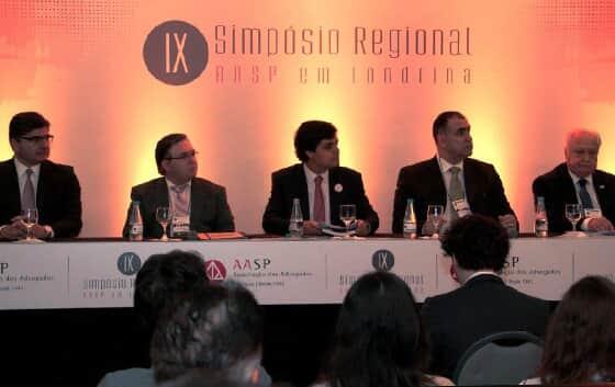 IX Simpósio Regional AASP em Londrina debateu temas atualíssimos do novo CPC com expositores de destaque no cenário jurídico