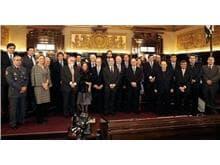 Integrantes do Conselho Consultivo Interinstitucional tomam posse no TJ/SP