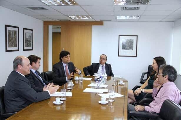 Diretores da AASP reúnem-se com o procurador-Geral do Estado