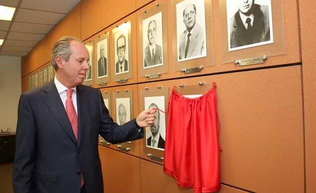Inaugurado retrato do ex-presidente da AASP Sérgio Rosenthal