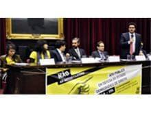 Advogados participam de ato em defesa do Estado Democrático de Direito