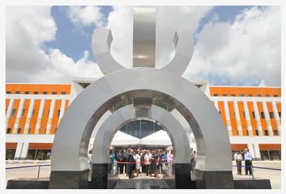 TJ/BA inaugura monumento em homenagem aos 400 anos do Tribunal da Relação do Estado do Brasil