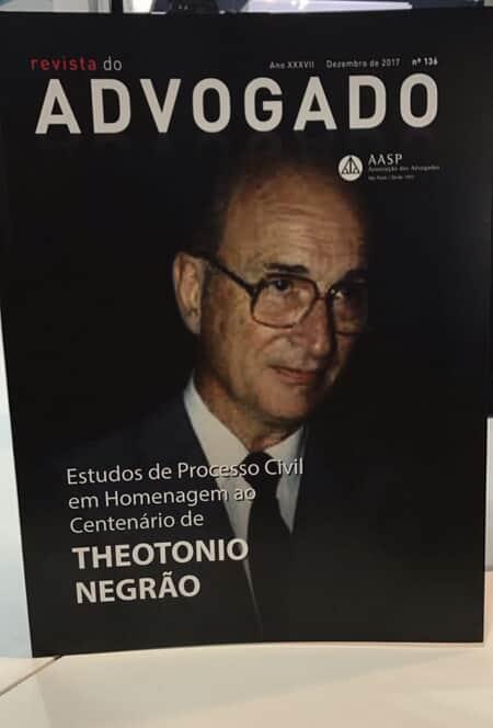 Revista homenageia centenário de Theotonio Negrão