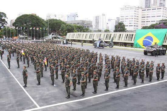 TJ/SP participa de solenidade de posse do cargo de Comandante Militar do Sudeste