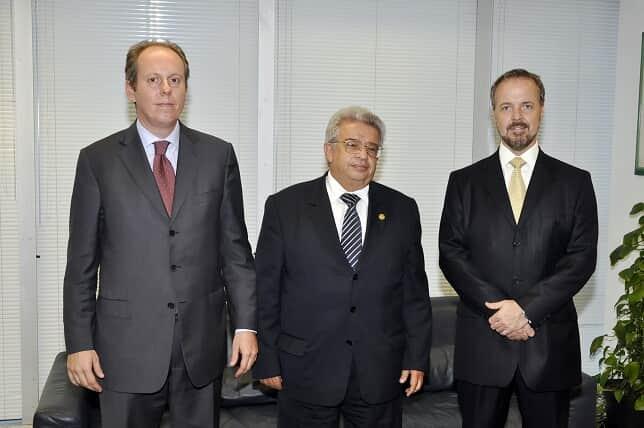 Diretores da AASP visitam presidente do TRF da 3ª região