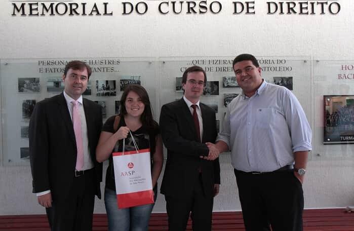 AASP visita autoridades de Araçatuba para divulgar a 11ª edição do Simpósio AASP que será realizado dia 24 na comarca