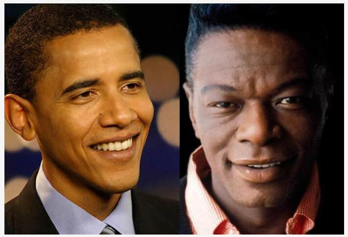 Obama e Nat King Cole