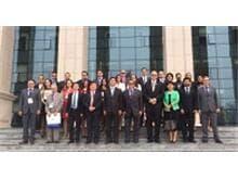 Magistrados brasileiros participam de curso na China