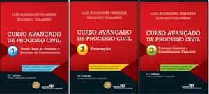 """Resultado do sorteio da coleção """"Curso Avançado de Processo Civil"""""""