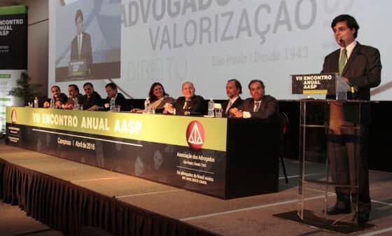 VII Encontro Anual AASP, em Campinas, contou com cerca de 600 participantes
