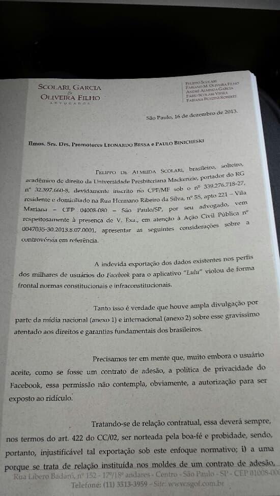 Justiça nega tutela antecipada em ação do MP/DF contra o Lulu