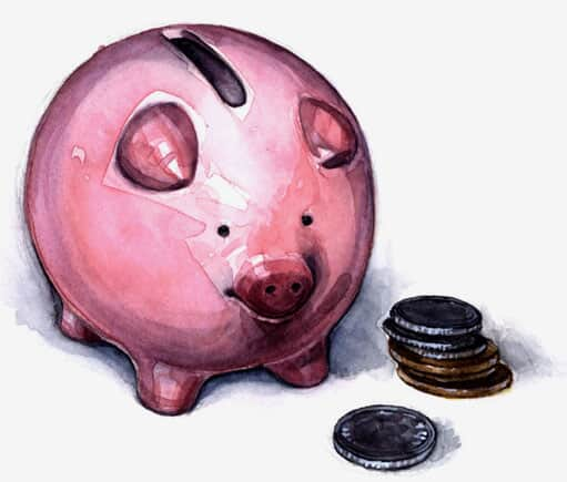 Você tem poupança?