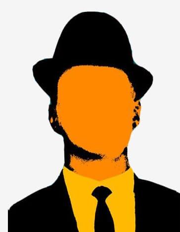 O discreto homem do chapéu