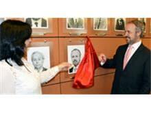 AASP inaugura retrato de Arystóbulo de Oliveira na galeria de ex-presidentes
