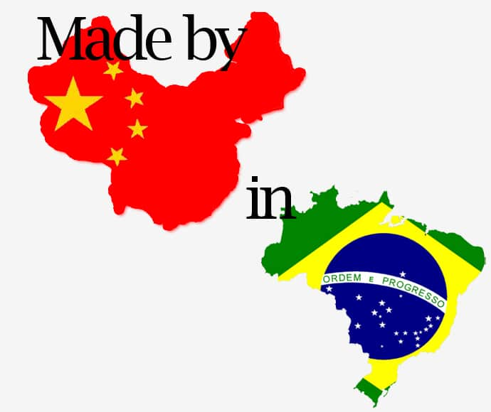 Made by China in Brazil